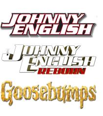 Karty pracy do filmów anglojęzycznych: Johnny English, Johnny English Reborn, Goosebumps (język angielski)